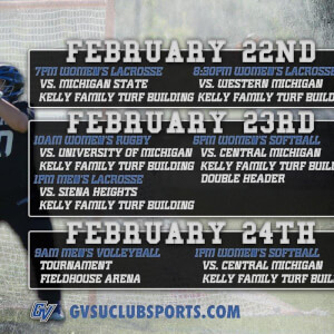 Photo on twitter by GVSUClubSports
